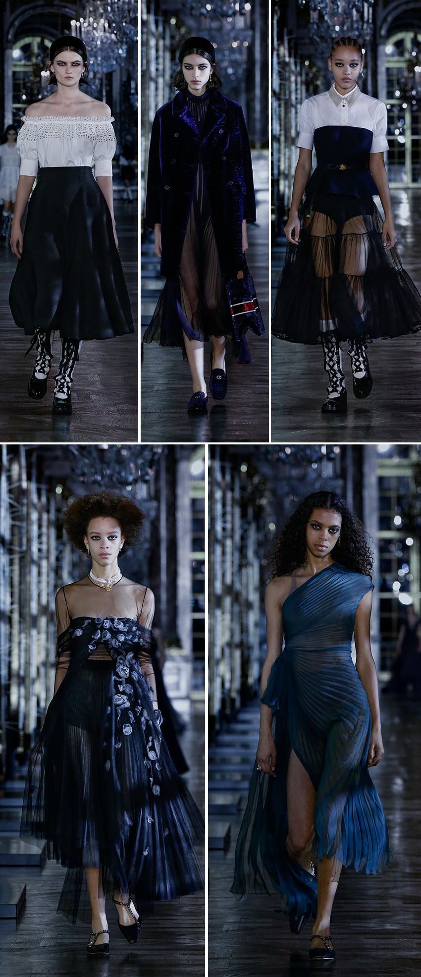 dior ready-to-Wear Fall Winter 2021 collection inspired in fairytales