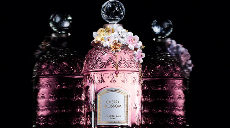 Guerlain Cherry Blossom limited edition bottle celebrates the rebirth of Spring