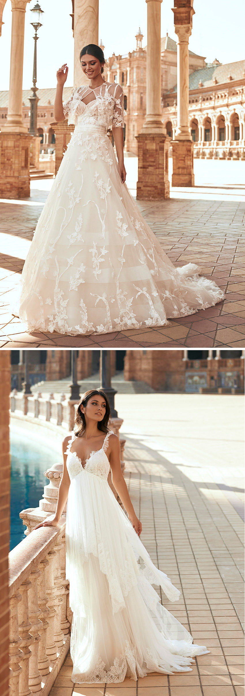 Marchesa for Pronovias new bridal collection inspired in the beauty of Spain's city Seville
