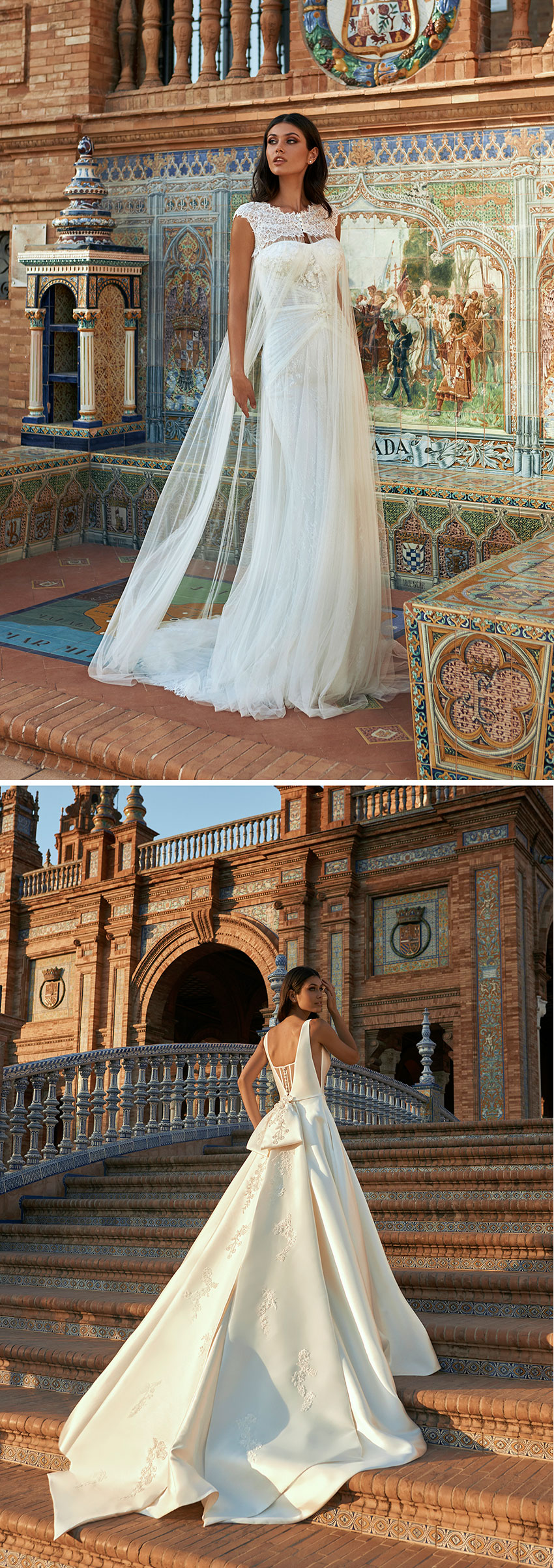 Marchesa for Pronovias combines the romantic hallmark of Marchesa with Mediterranean sensuality Perfect Wedding Magazine