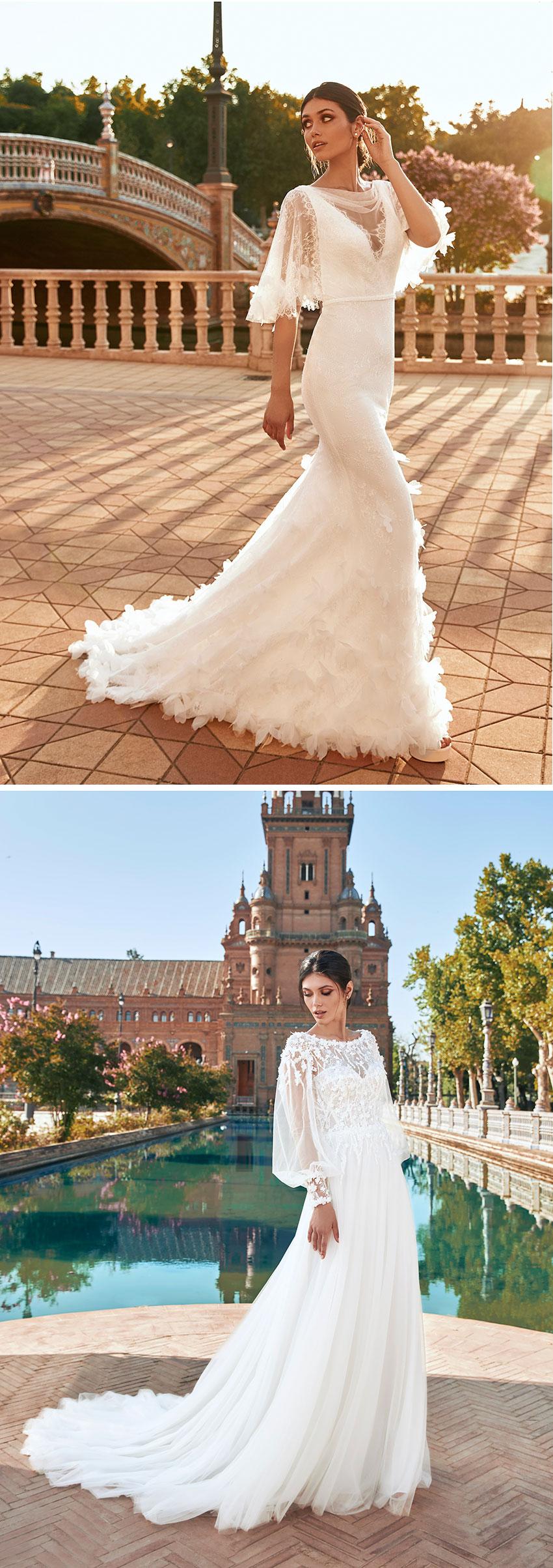 Marchesa for Pronovias wedding dresses Perfect Wedding Magazine