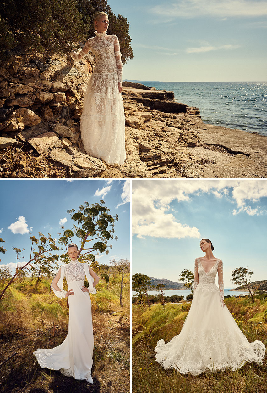 Costarellos Spring 2022 bridal collection makes luxurious products in a responsible and sustainable way
