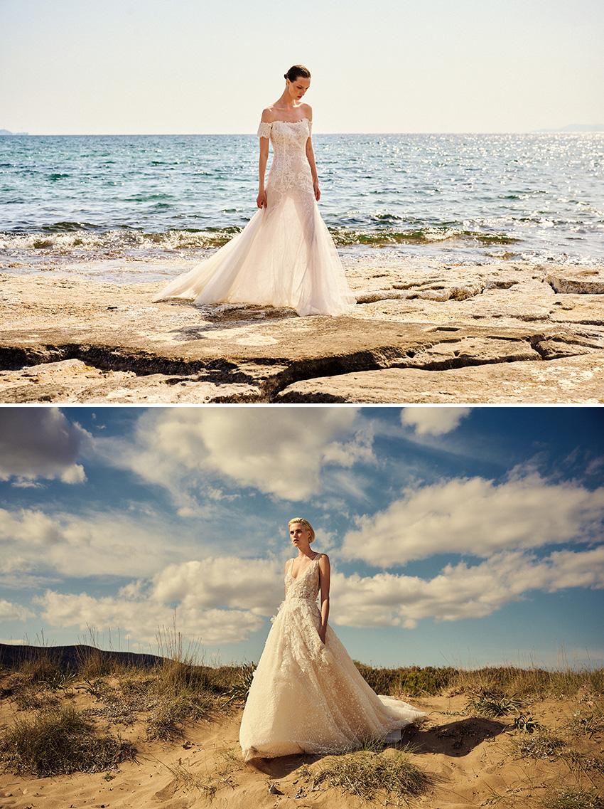Christos Costarellos Spring 2022 bridal collection in Perfect Wedding Magazine