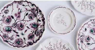Dior Maison Granville tableware collection designed by Cordelia de Castellane