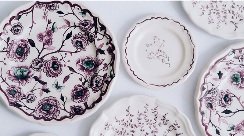Dior Maison Granville tableware collection designed by Cordelia de Castellane