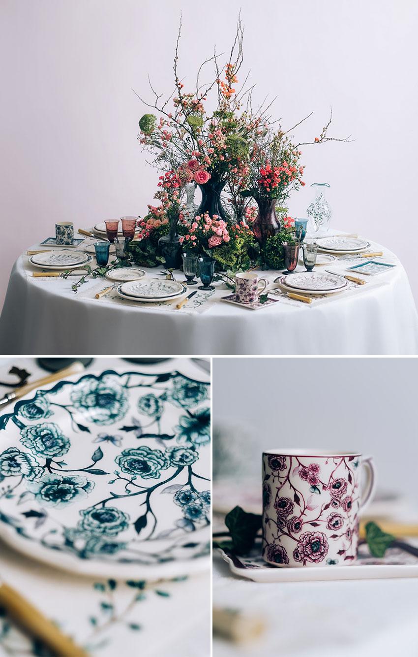 Dior Maison Granville tableware collection