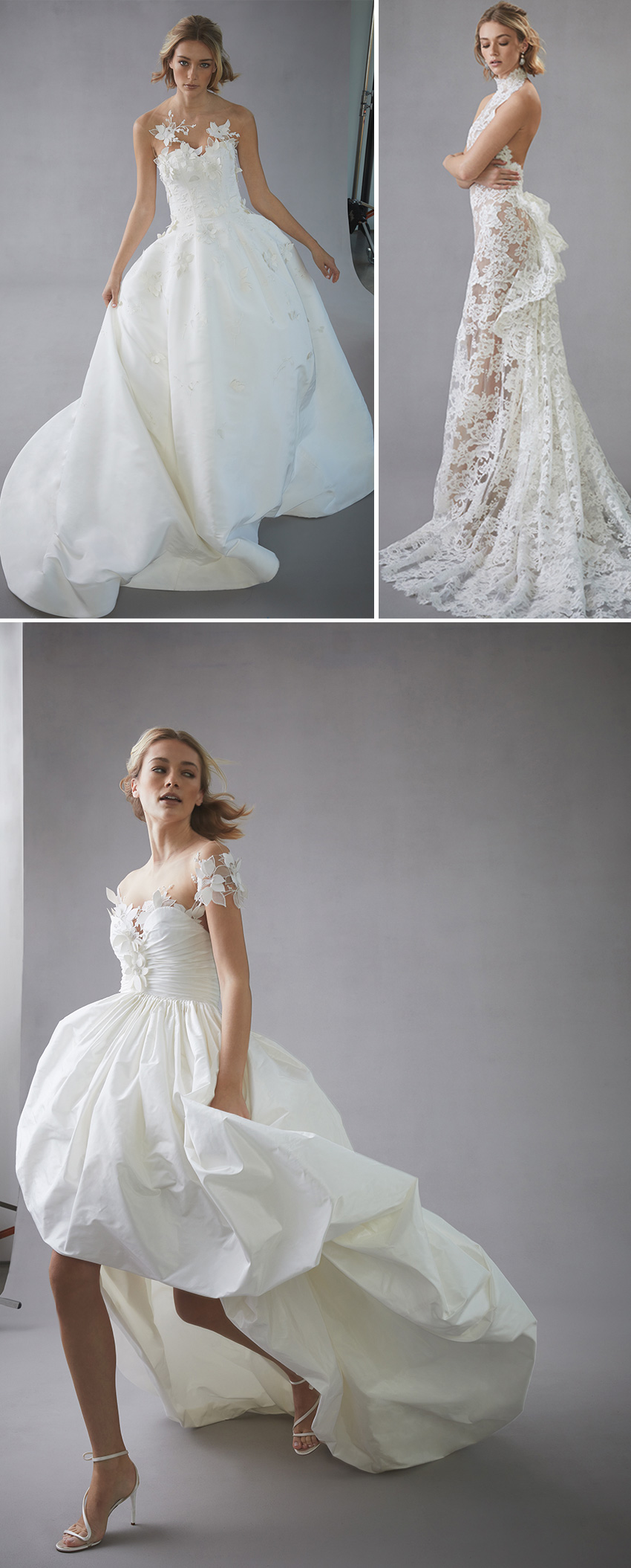 Oscar de la Renta Spring 2022 bridal collection in Perfect Wedding Blog
