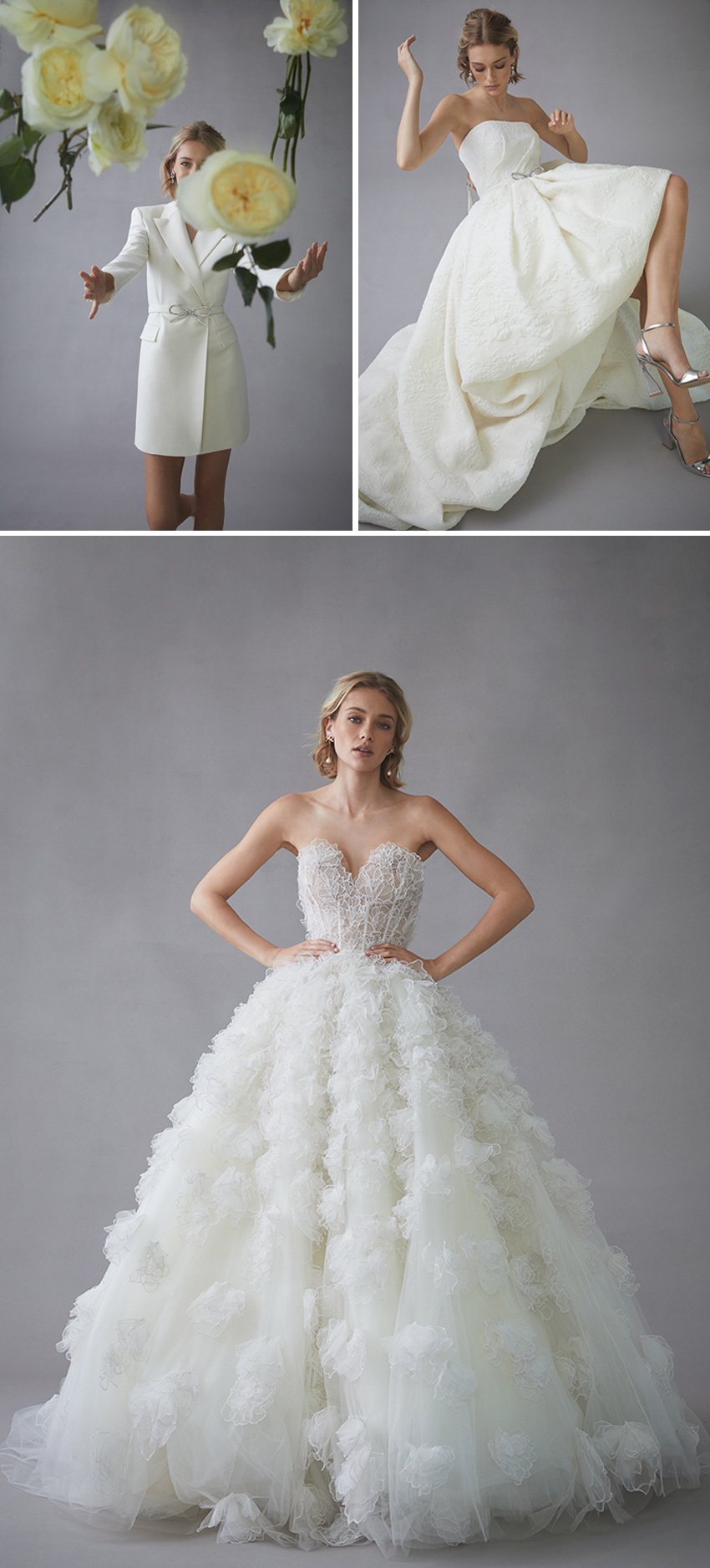Oscar de la Renta Spring 2022 bridal collection