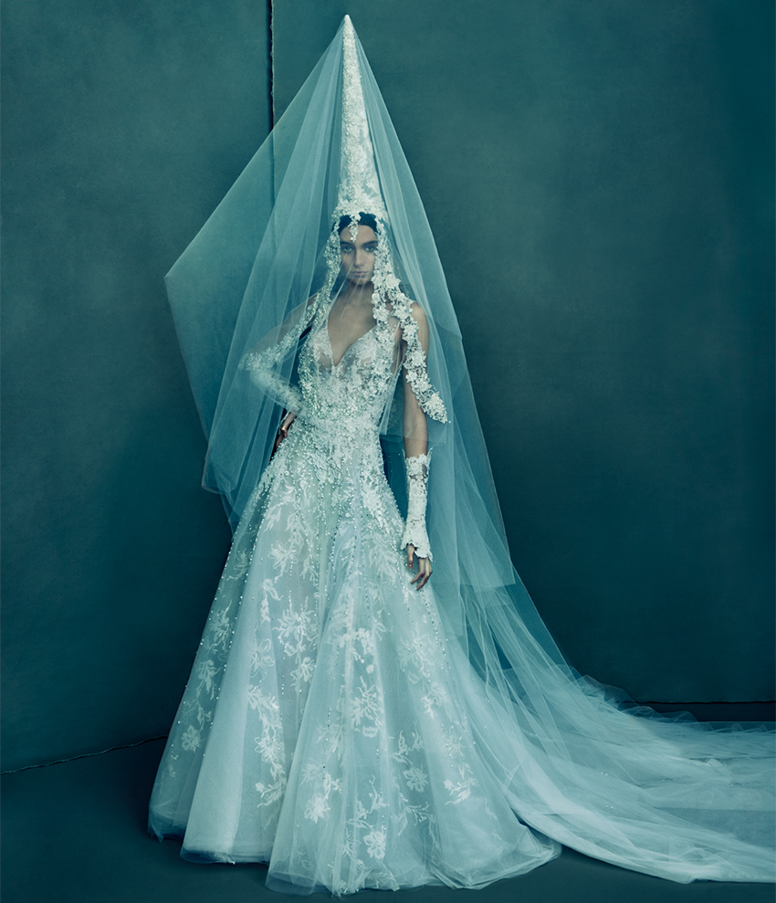 Lebanon Wedding Dress from Reem Acra The Love and Dreem Spring 2021 couture collection in Perfect Wedding Magazine