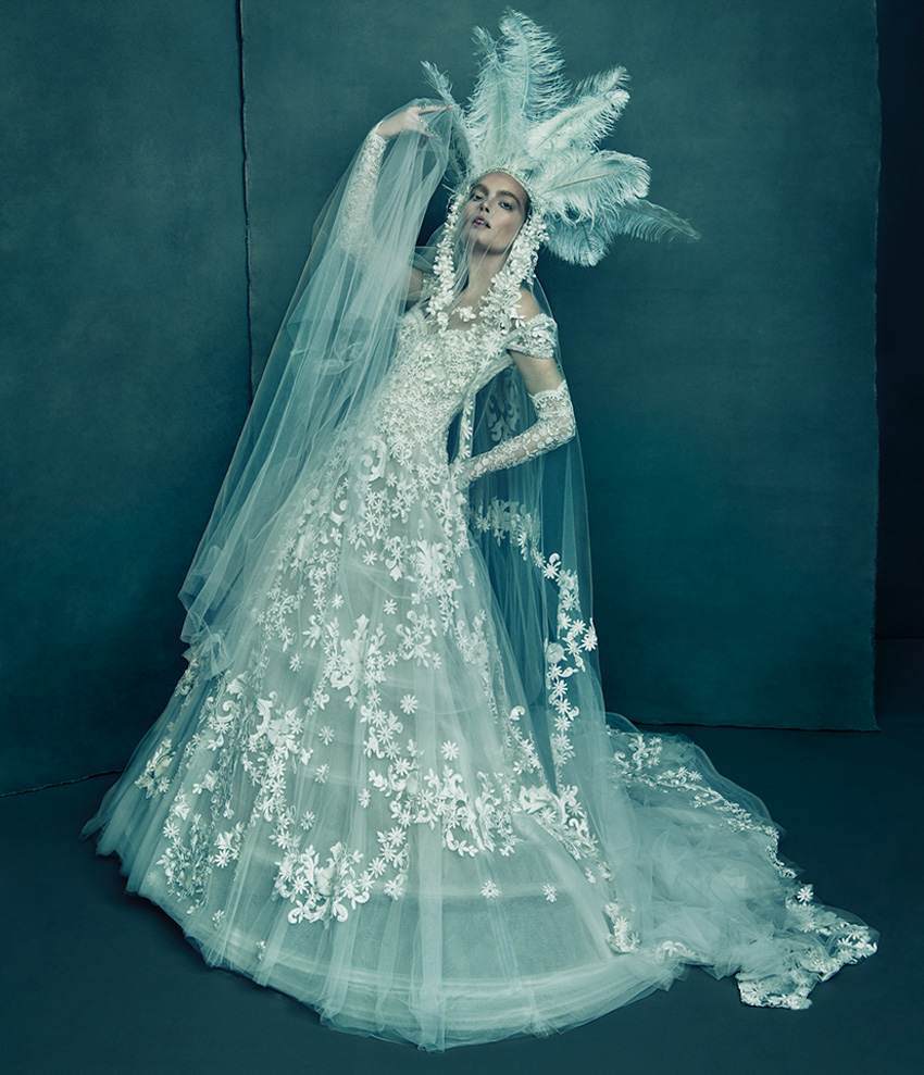 North America Wedding Dress from Reem Acra The Love and Dreem Spring 2021 couture collection