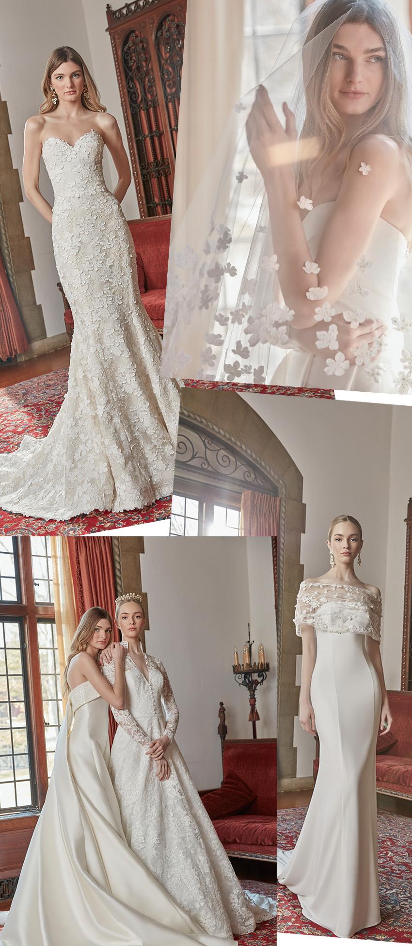 Sareh Nouri Spring 2022 Enchantment bridal collection