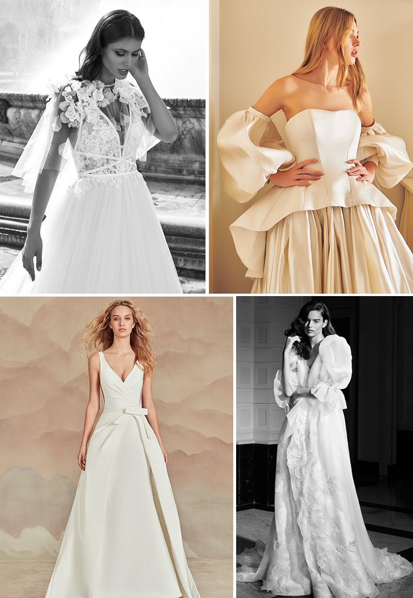 Detachable Wedding dresses 2022 Spring collections