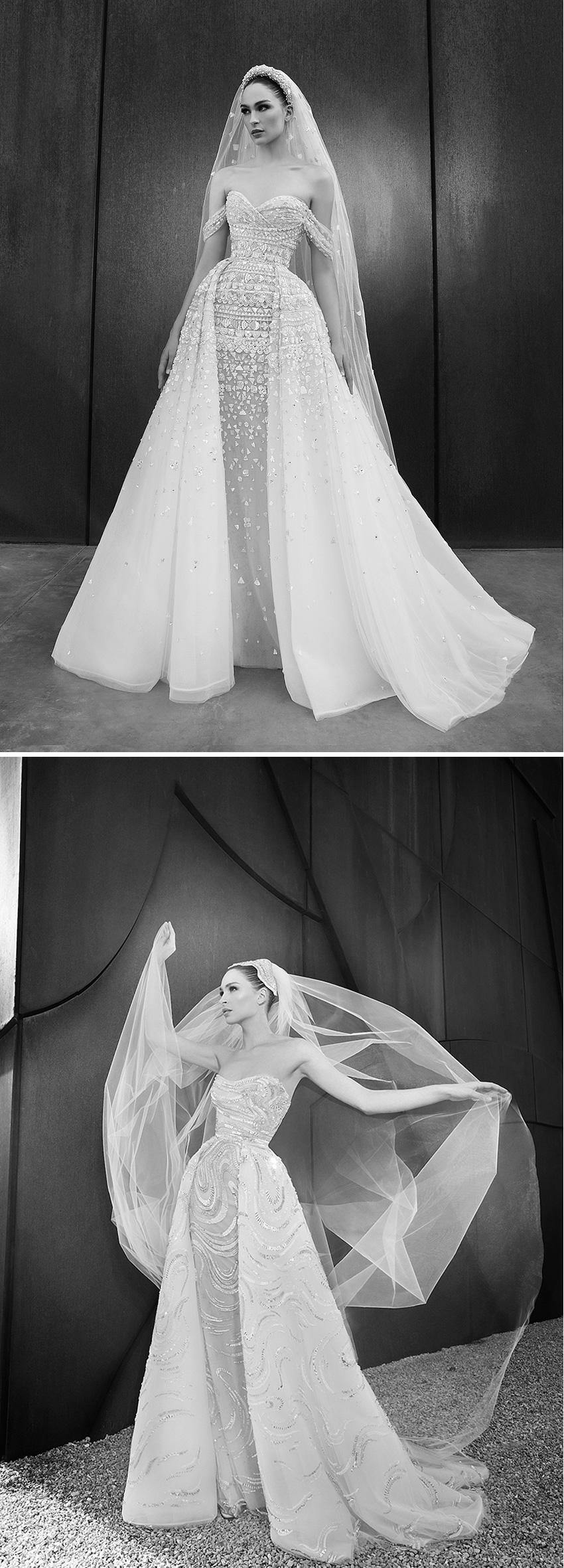 Zuhair MUrad Spring 2022 in Perfect Wedding Magazine
