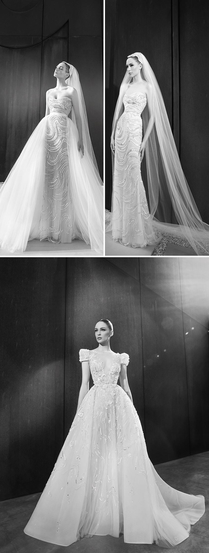 Zuhair Murad Spring 2022 bridal collection revisits the yé-yé era