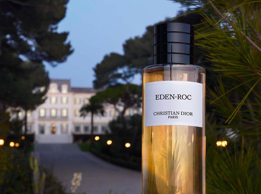 Hotel Du Cap Eden-Roc celebrates 150th and Dior parfums creates an exclusive fragrance Eden Roc
