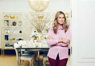 Aaerin Lauder at the headquaters office of Aerin brand