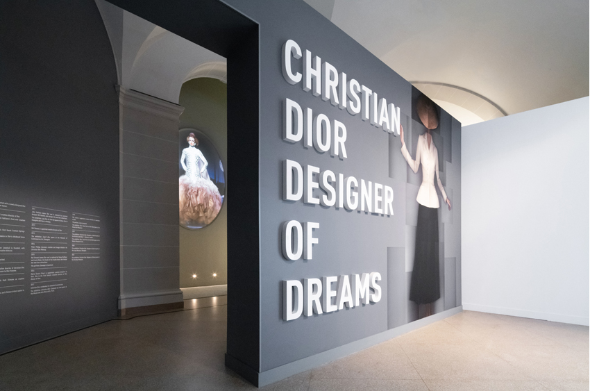 Christian Dior Designer of Dream exhibition in New York