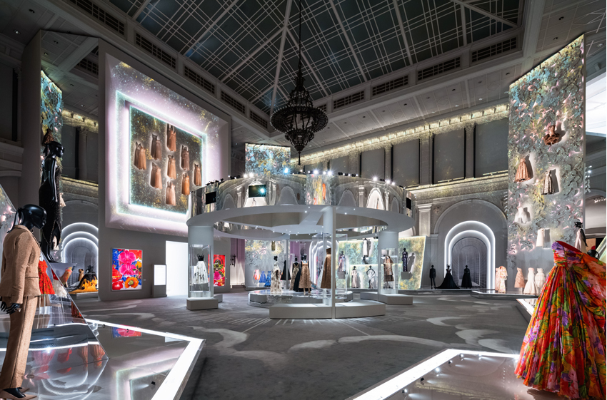 Christian Dior: Designer of Dreams now opened at the Brooklyn Museum