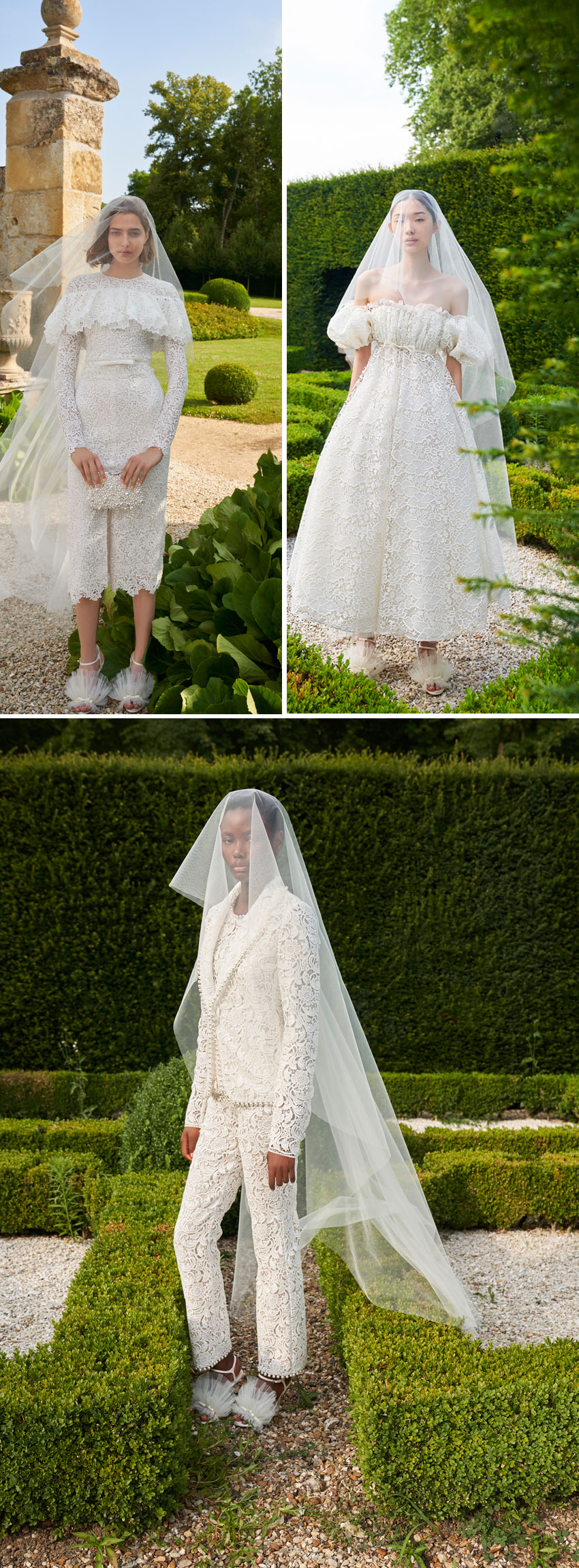 Giambattista Valli first bridal collection available on September 9th 2021