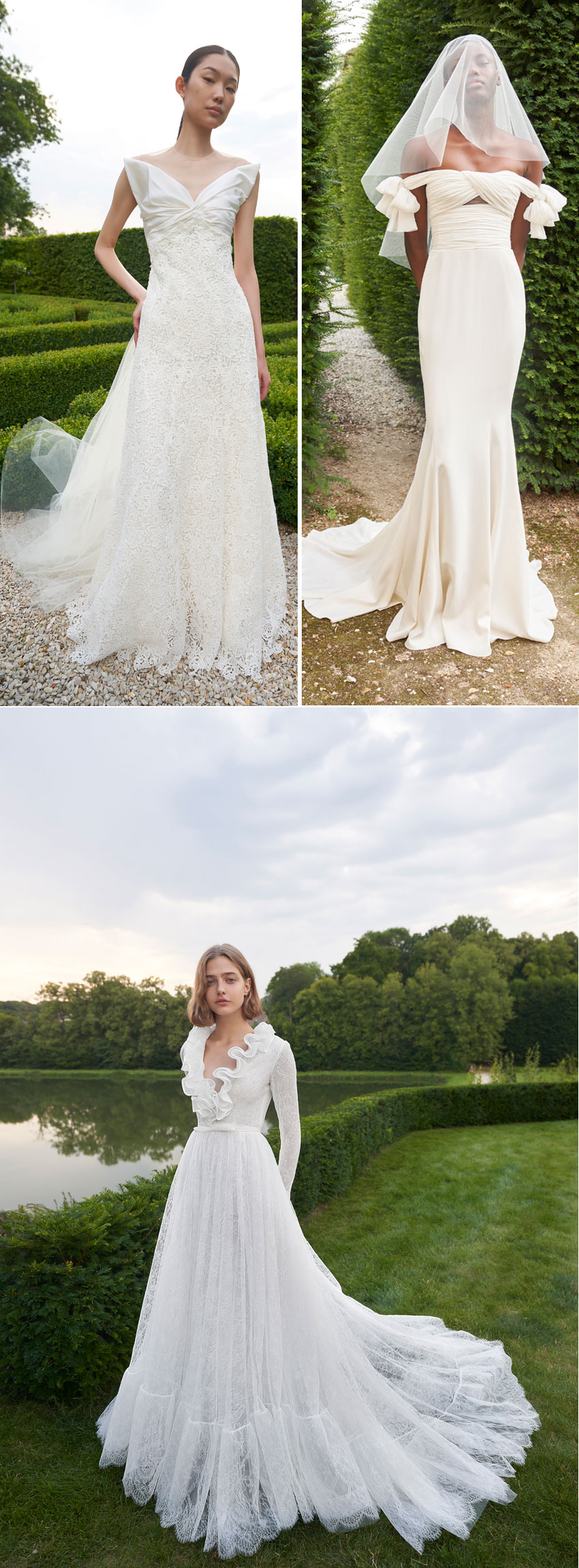 Giambattista Valli first bridal collection