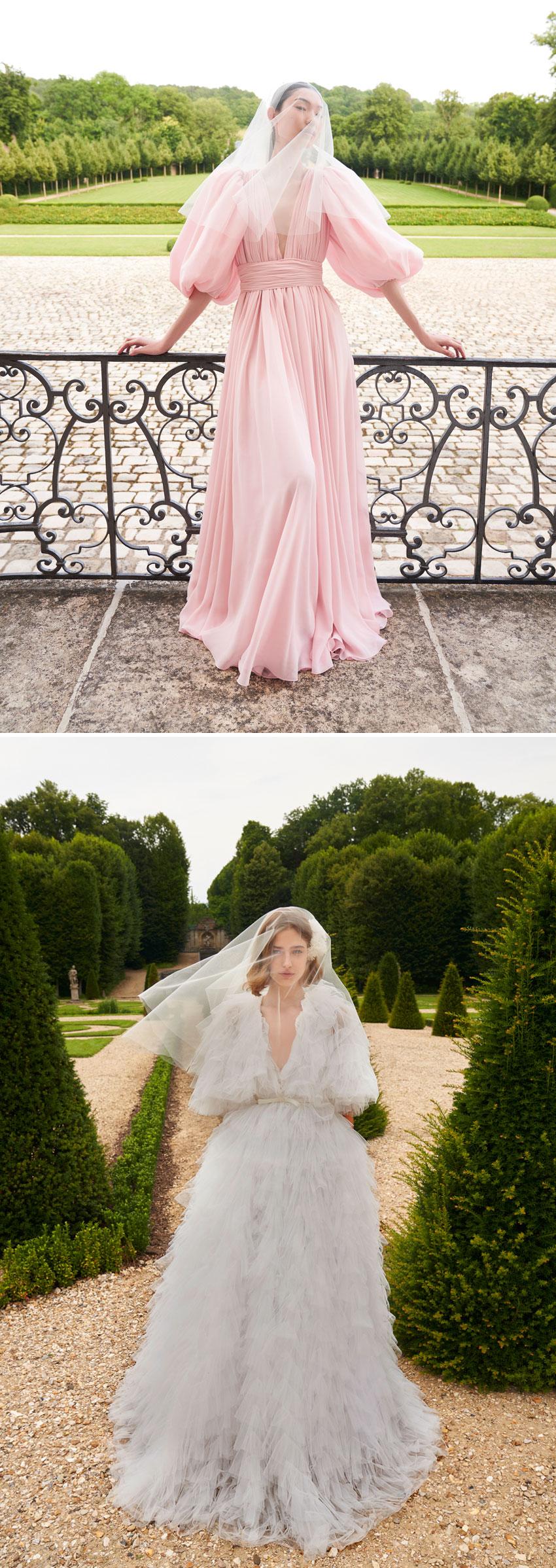 Giambattista Valli first bridal collection contains 17 dresses