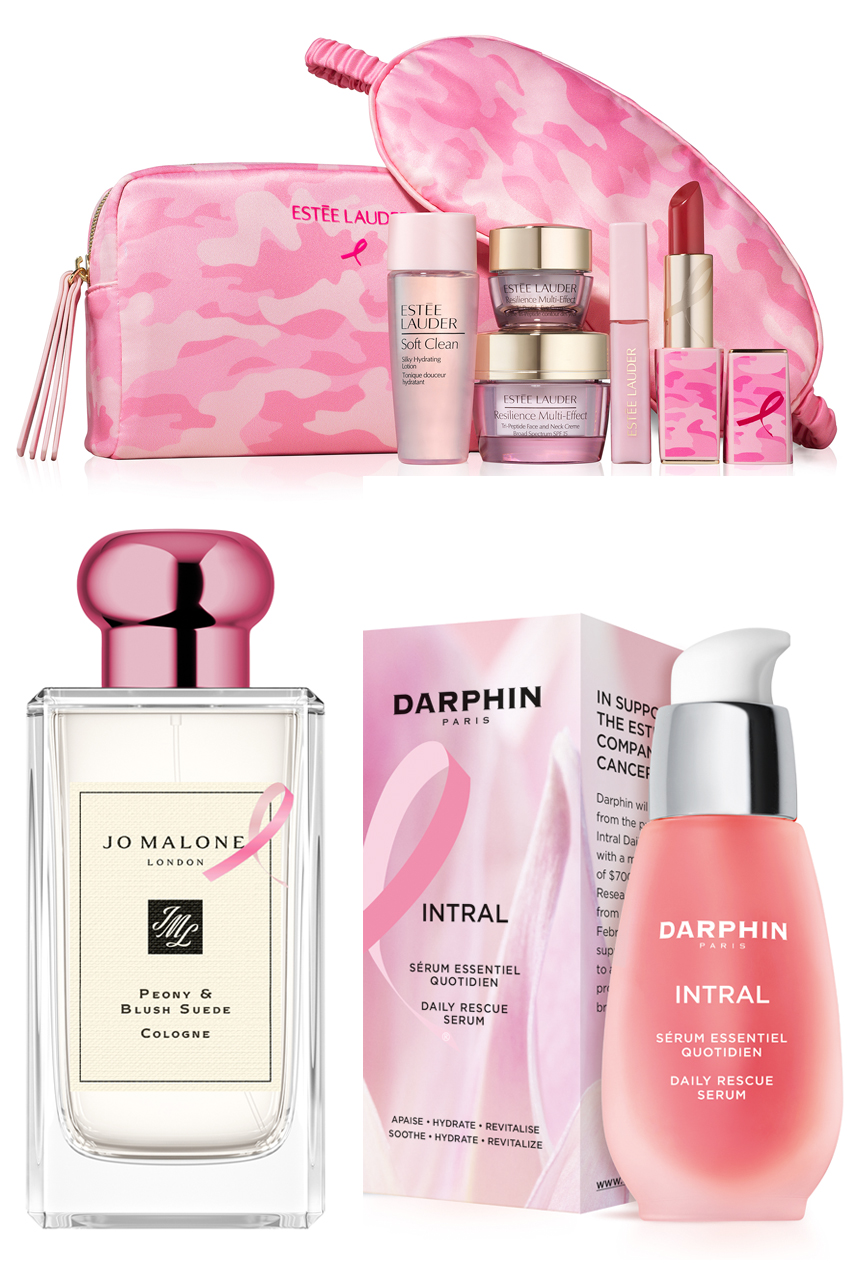 Estée Lauder Companies participating brands in the End of Breast Cancer Campaign