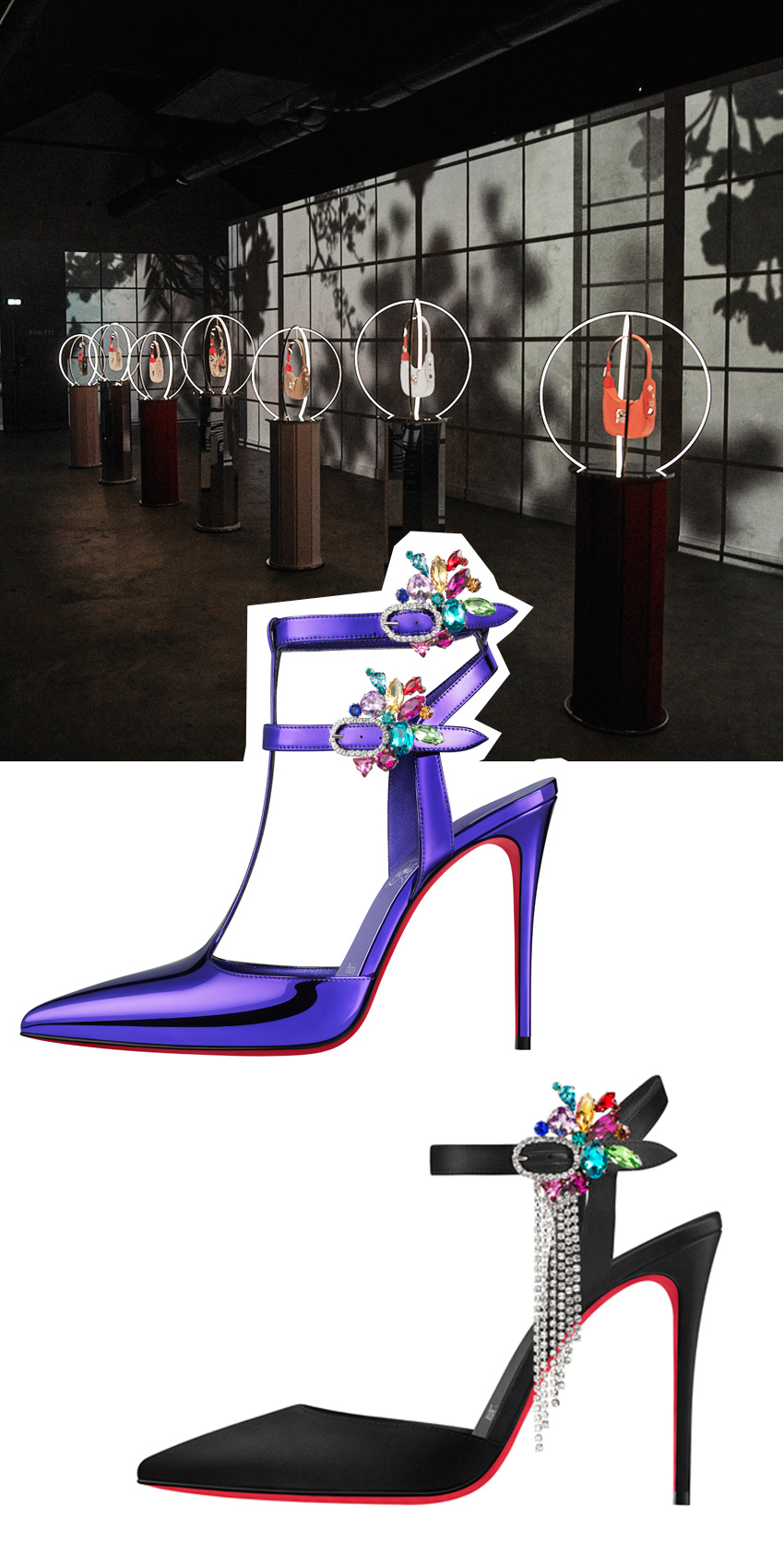 Loubillusions is Christian Louboutin's Spring Summer 2022 collection